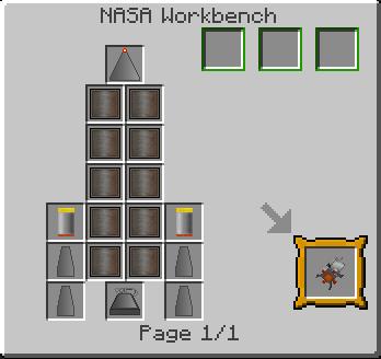 Как построить ракету в майнкрафте с модом